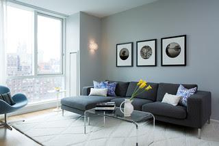 Sleek Living Room modern living room