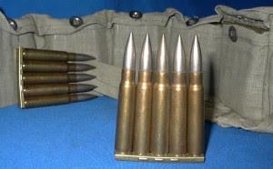 Munição 7,92x57mm Mauser