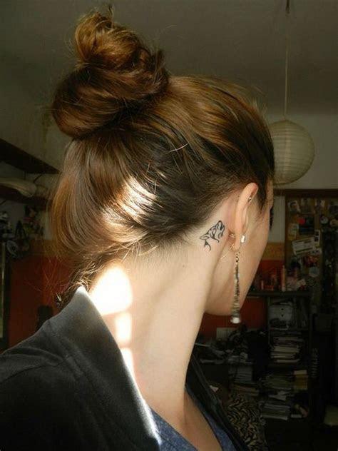 beautiful ear tattoos girl