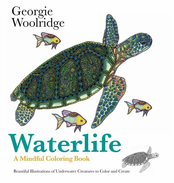 Waterlife coloring book