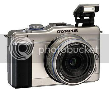 Olympus E-PL1 Camera White
