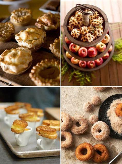 Fall wedding food ideas   FALL Festivities!   Pinterest