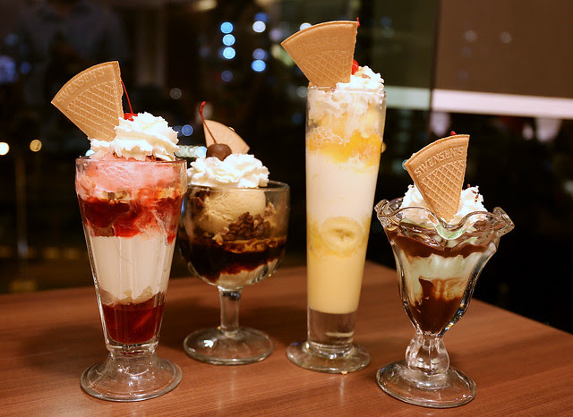 Swensen's is about Sundaes, parfaits and oh, ice cream...