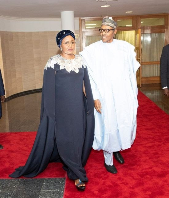 CONGRATULATIONS!!! President Buhari Allegedly Ties Knot With His New Wife Sediya (Video)