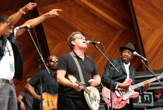 English Beat, Hatch Shell, Earth Day Thingy