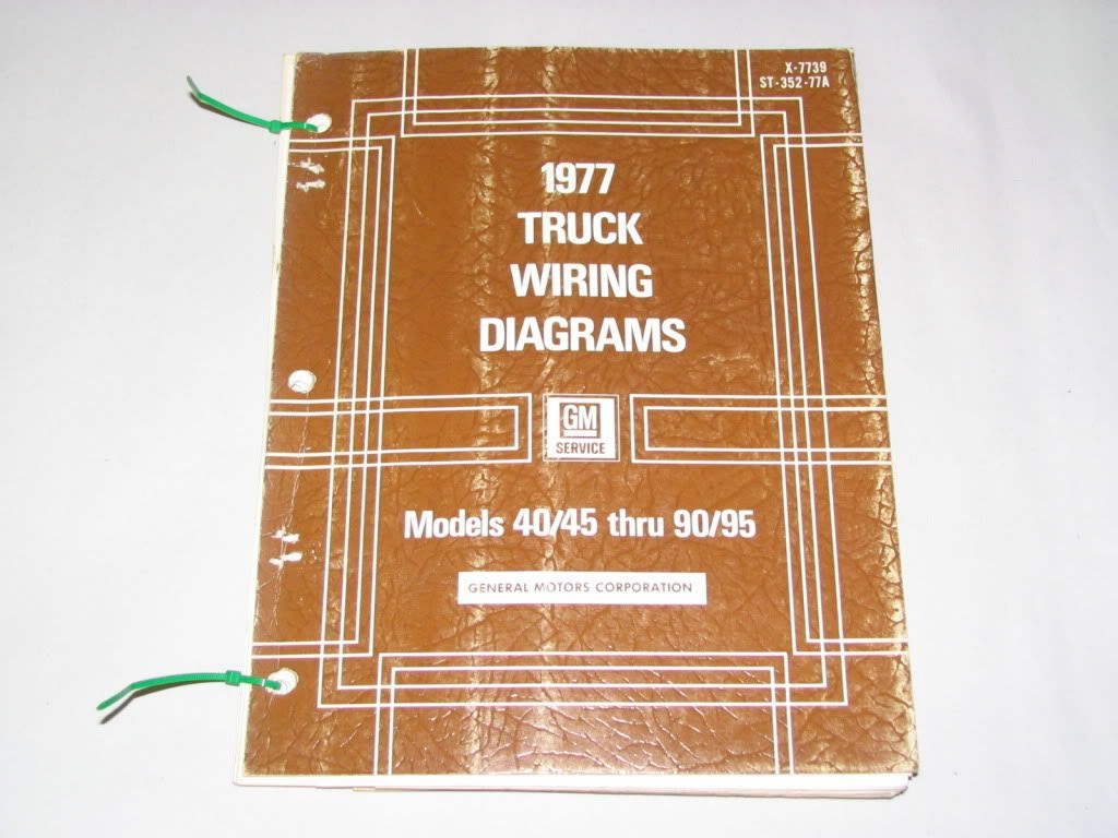77 Chevrolet Truck 40 45 50 60 65 Wiring Diagrams 1977 | eBay
