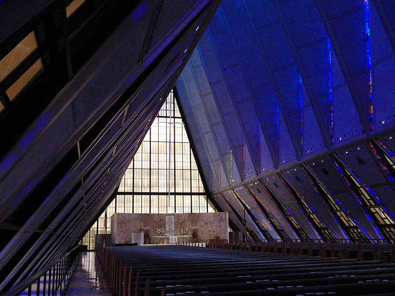 United States Air Force Academy, Protestant Chapel