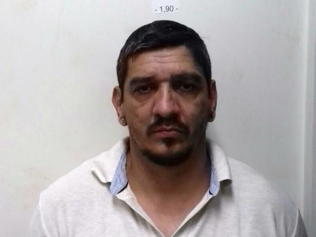Tibério Vinícius França foi preso nesta quinta (28), em Pernambuco (Foto: Divulgação/PF)