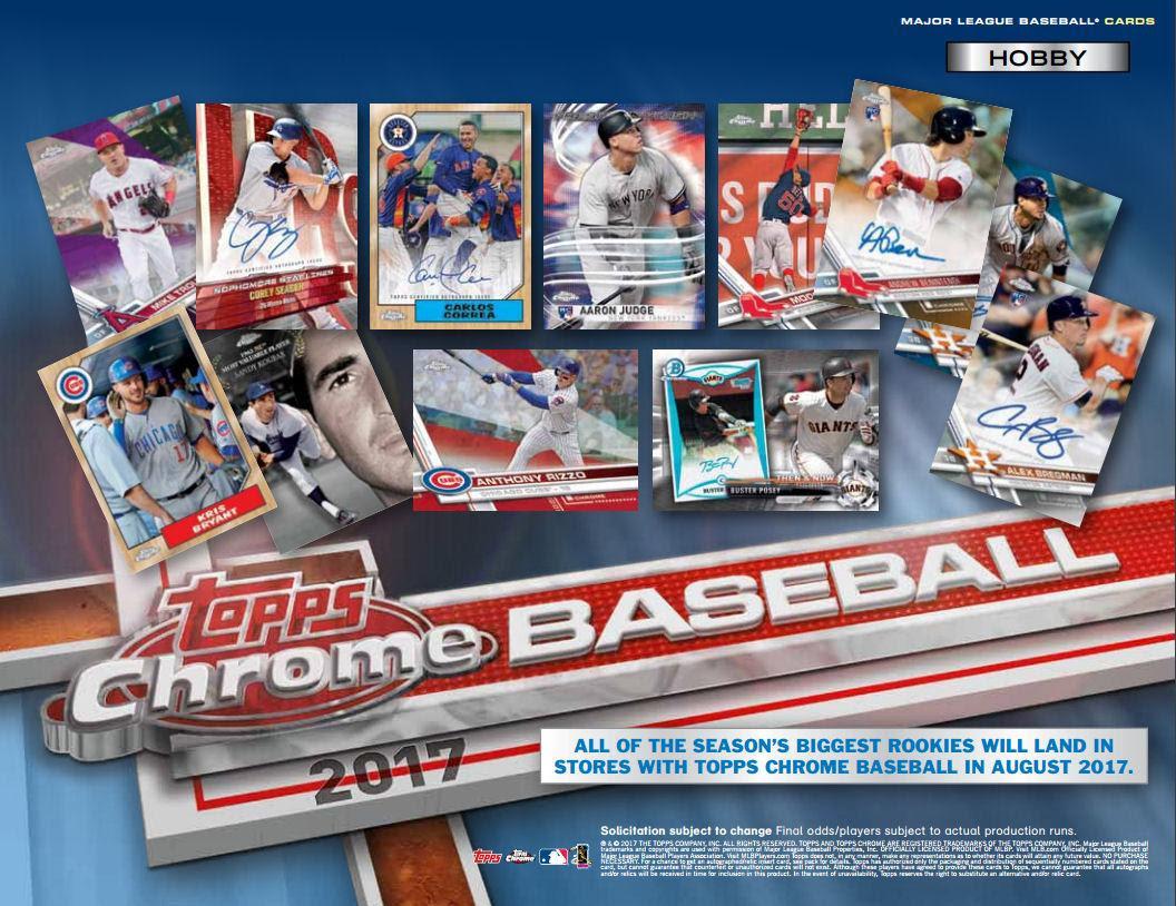 Image result for images 2017 Topps Chrome Baseball