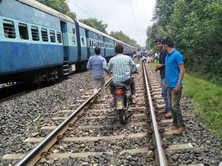 ट्रेन का इंजन फेल