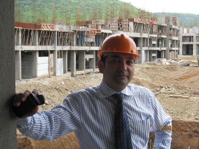 Megapolis Smart Homes 2, Hinjewadi Phase 3 - Hemant Kulkarni in the sample flat 1