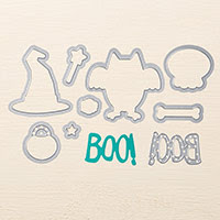 Boo to You Framelits Dies by Stampin' Up!
