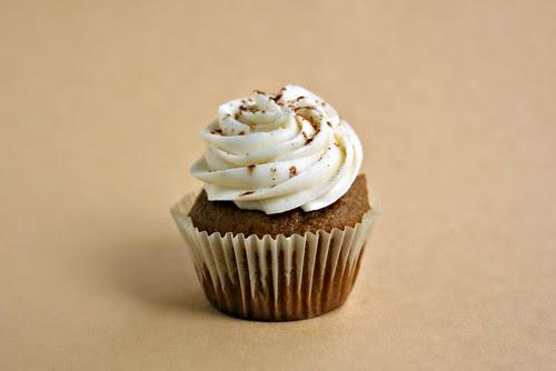 pumpkin spice cupcake