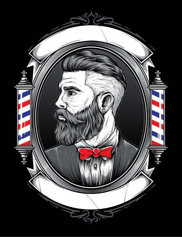 Barber Logo Vector at GetDrawings   Free download