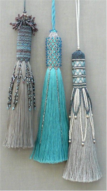 beaded tassels
