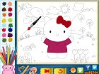 Hello Kitty Boyama Oyunu Oyna Hello Kitty Oyunları
