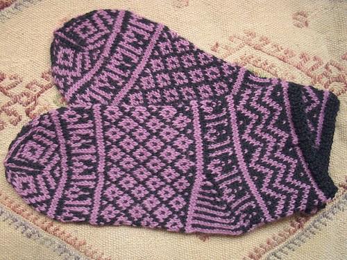 mamluke socks FO flat