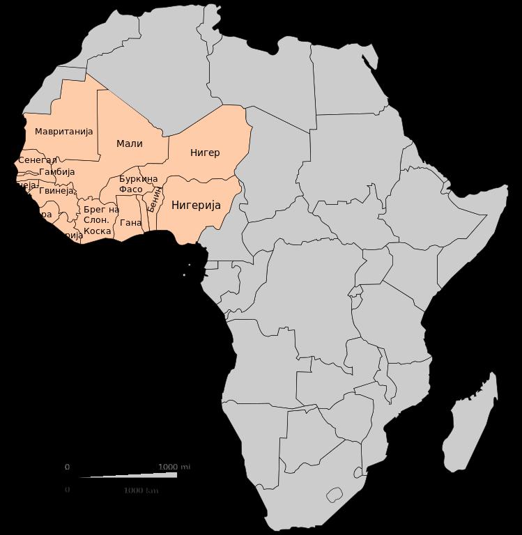Filepolitical Map Of West Africa According Un Mk Svg