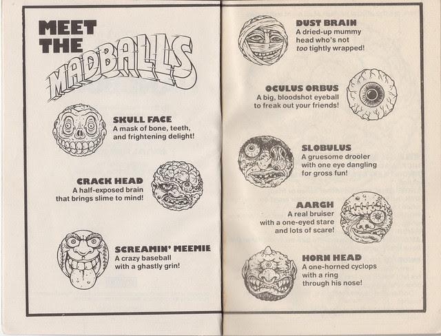 Madballs Handbook