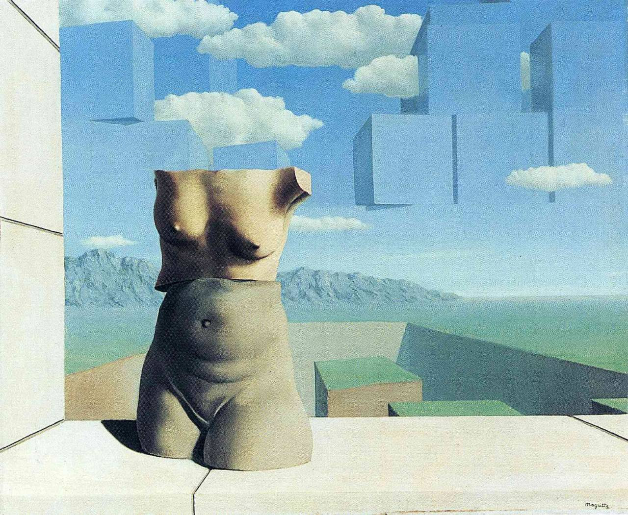 The marches of summer, 1939 Rene Magritte