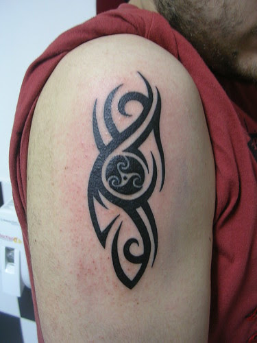 Free Male Tribal Arm Tattoos