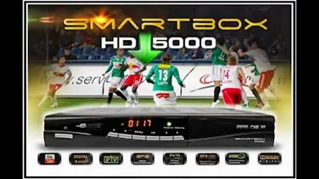 SMARTBOX HD 5000 NOVA ATUALIZAÇÃO MODIFICADA - 06/08/2016