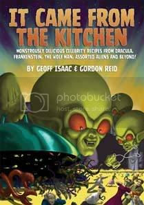 It Came from the Kitchen:Book Cover