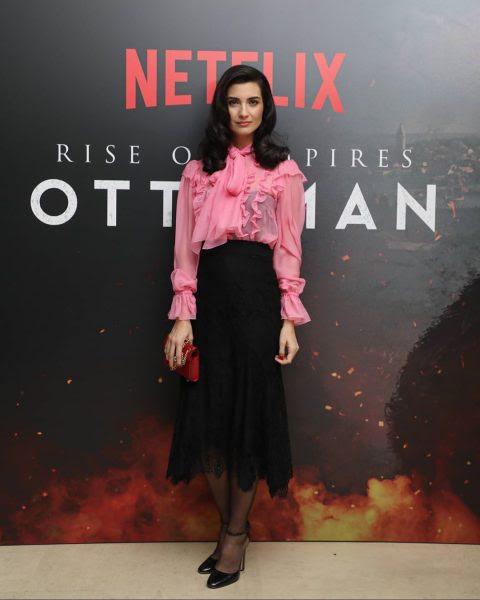 الممثلة التركية  توبا بويوكوستن قاتلة متسلسلة ؟