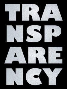 Mottled-transparency
