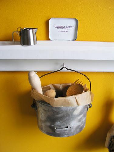 kitchen ledge detail