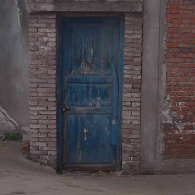 Blue Door, Yuanchi, Sichuan