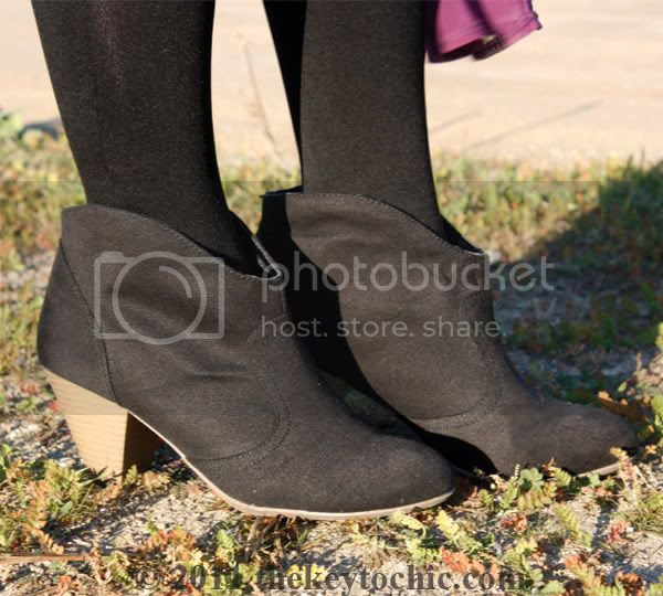 Mossimo Kacey boots, cowboy ankle boot