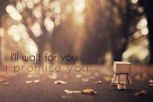 Ill Wait For You I Promise You Pictures Photos And Images For