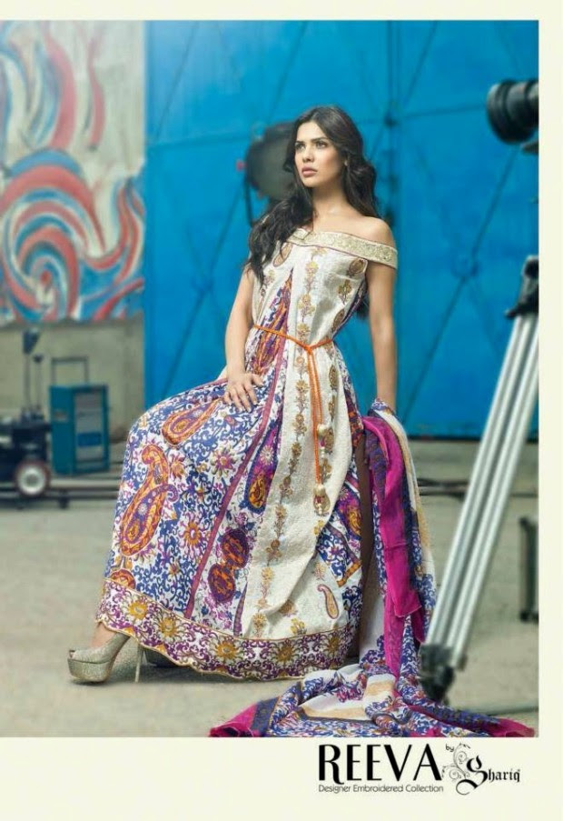 Womens-Girl-Dress-Reeva-Designer-Embroidered-Lawn-Collection-2013-By-Shariq-Textile-6