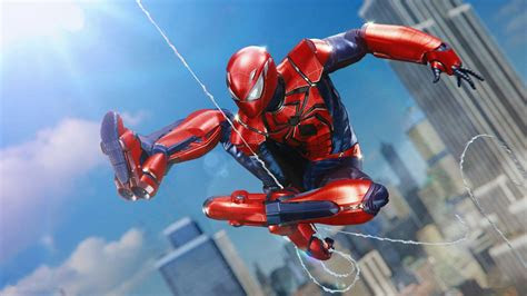 wallpaper spider man ps aaron aikman armor  games