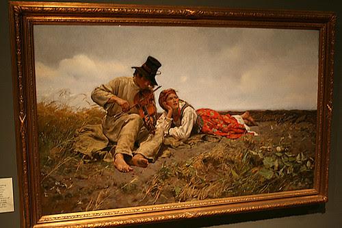 Sielanka by Jozef Chelmonski, circa 1885 hung at Arden by Trader Chris