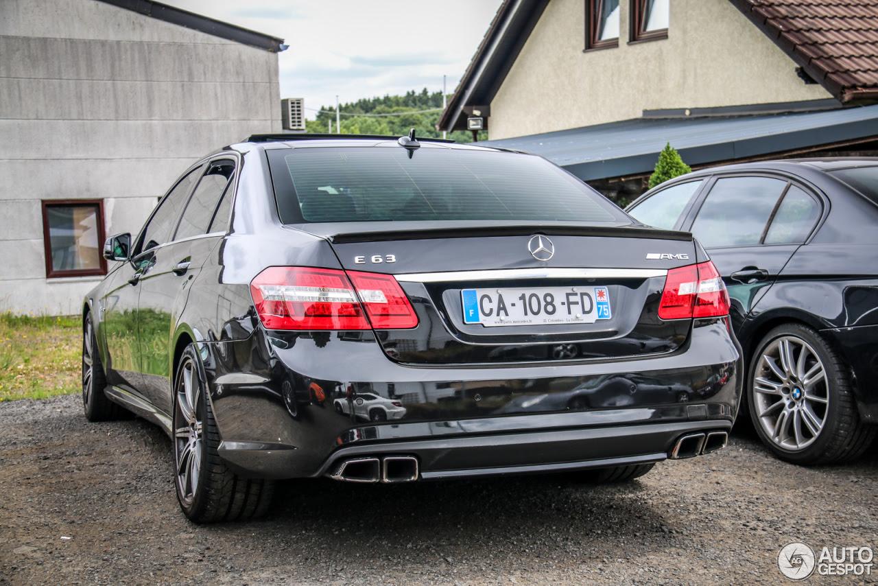 Mercedes-Benz E 63 AMG W212 V8 Biturbo - 12 July 2015 ...