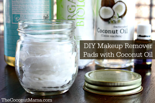 Homemade Makeup Remover Pads - The Coconut Mama