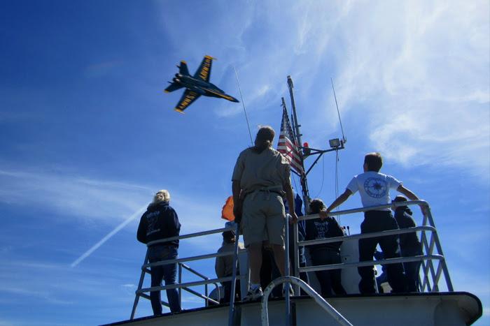 Fleet Week Air Show Blue Angels Flyover
