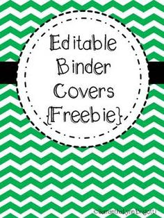 free Chevron Themed Binder Covers | HouseHold/Home Management ...
