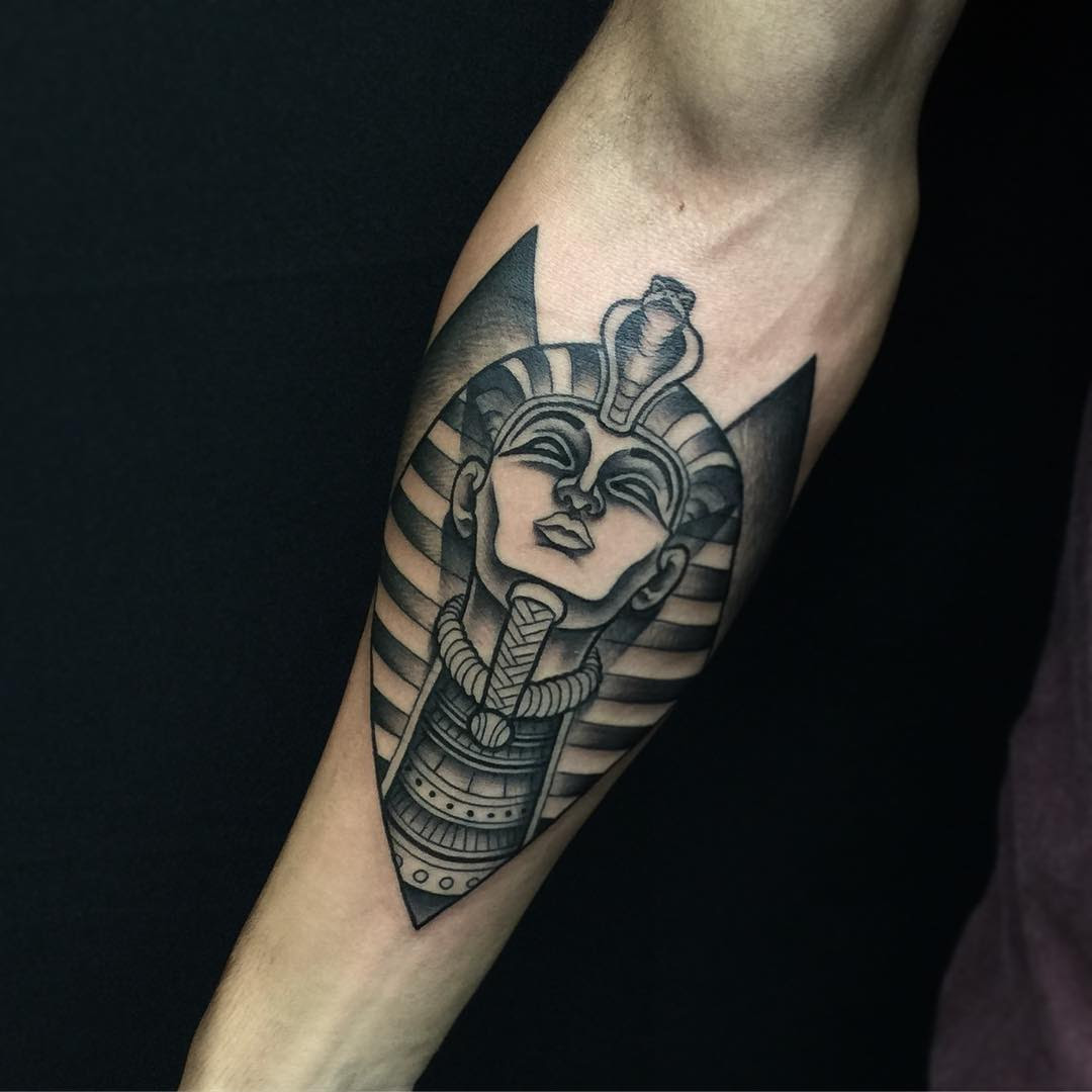 60 Appealing Egyptian Tattoo Designs - Permanent Charm for ...