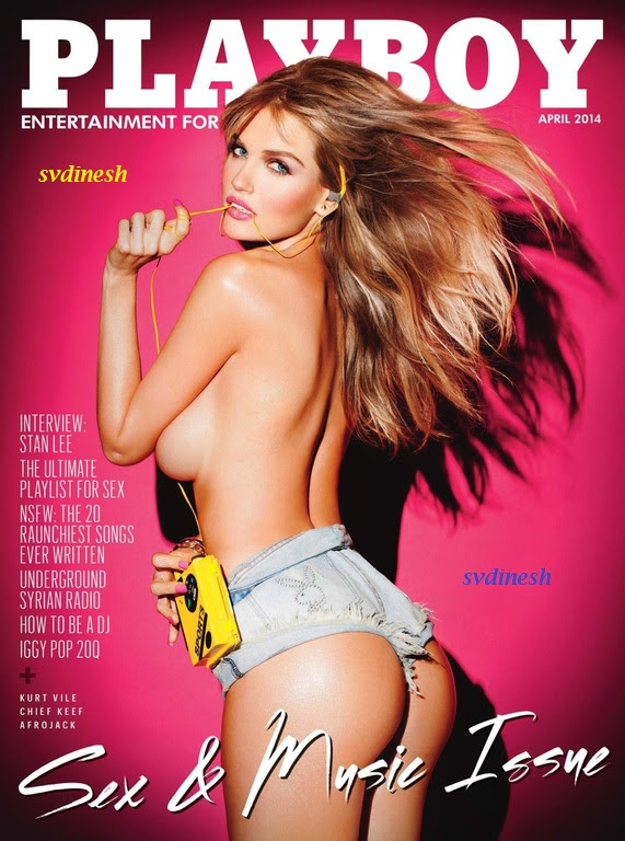 image [For 18+ Only] [Download Center] Playboy USA – April 2014 | 121.47 MB