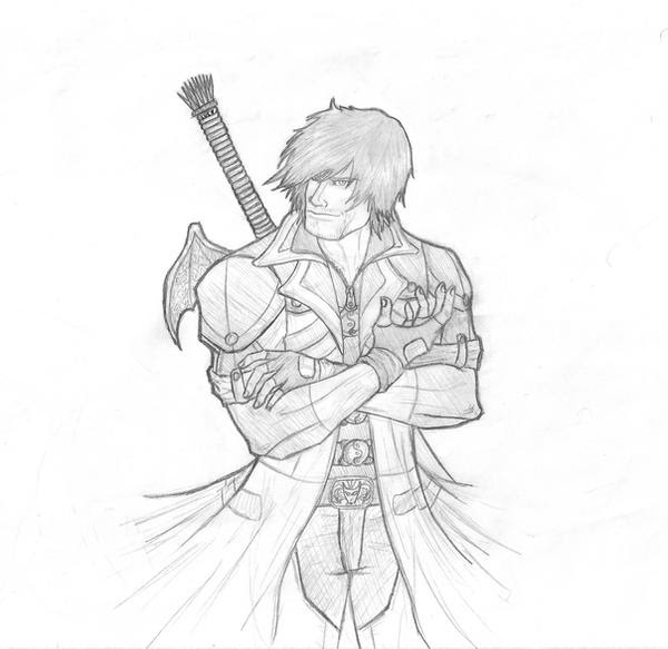 Dibujos De Personajes De Videojuegos A Lapiz Imagui