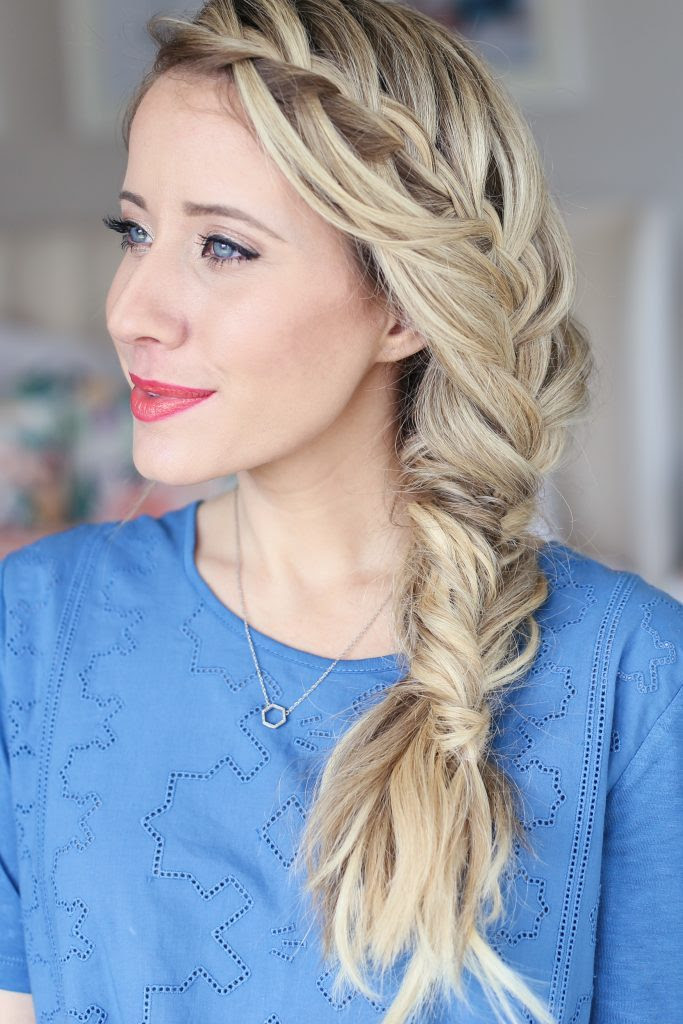 15 Creative Fishtail Braid iHairstylesi