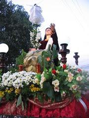 Easter float -- Jesus