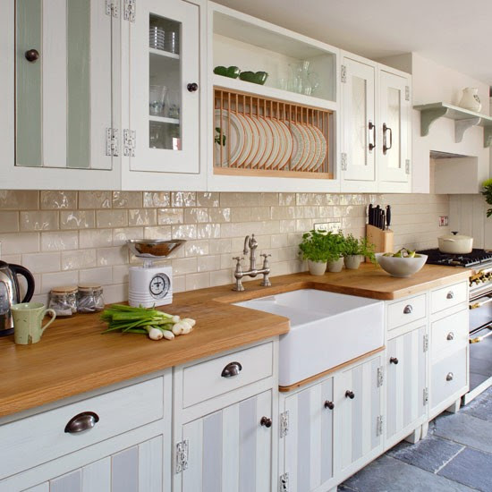 Warm materials | Galley kitchen design ideas | housetohome.