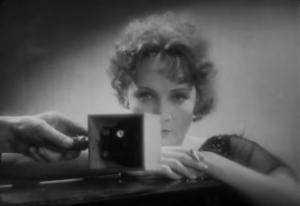 Screen Test para Der blaue Engel (O Anjo Azul, 1930) de Josef von Sternberg