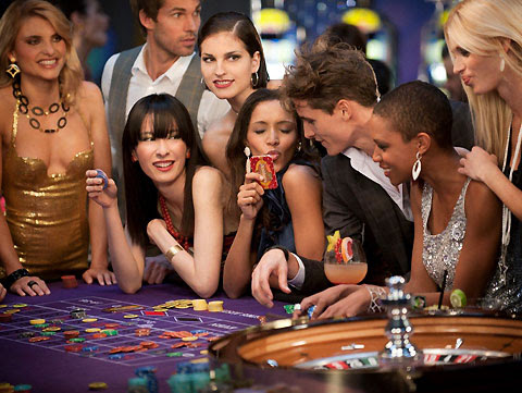 Image result for casino girl gambling