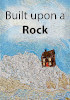 Cover of the book entitled Built upon a Rock ‒ NEW ‒ £7.50