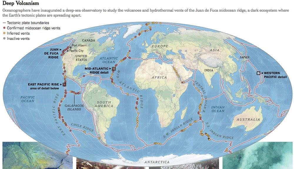 Explorando o fundo dos oceanos,mapa do fundo submarino